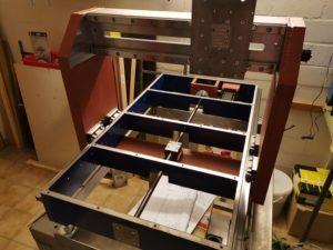 Konstruktion meiner Portalfräsmaschine